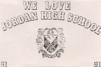 We Love Jordan High School - tape cover